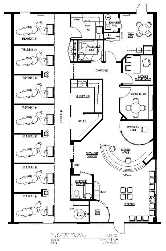 Top 25 Ideas About Floor Plans On Pinterest Cosmetic Clinic Design Clinic Interior Design Dental Office Design