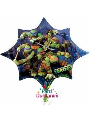 Ninja Turtles Folyo Balon Süper Shape