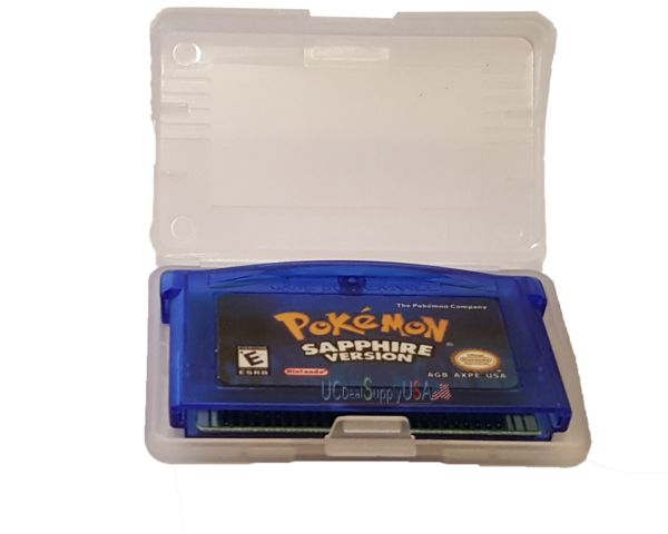 Pokemon Sapphire version (Game Boy Advance, GBA) Saves & Loads Game Tested!