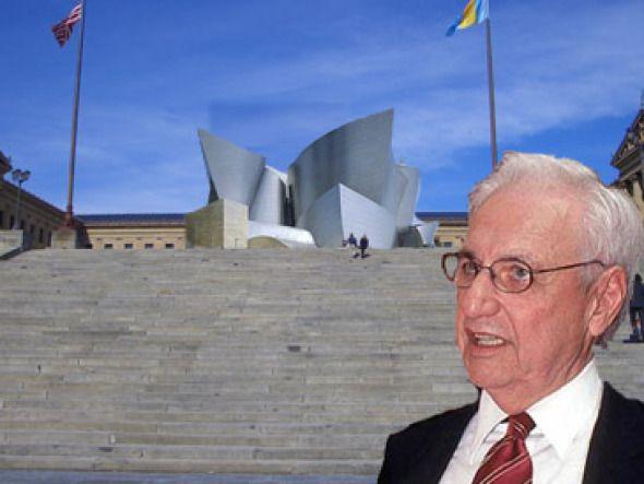 Polémica por la participación de Frank Gehry en los cambios a la escalinata del museo de Filadelfia, famosos por la película Rocky.