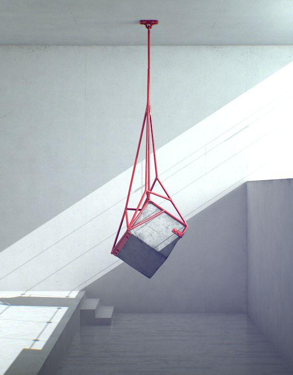 Measure by Fabrice Le Nezet: Angles, Inspiration, Le Nezet, Weights, Art Installations, Fabrics Le, Lights Fit, Lenezet, Concrete Sculpture