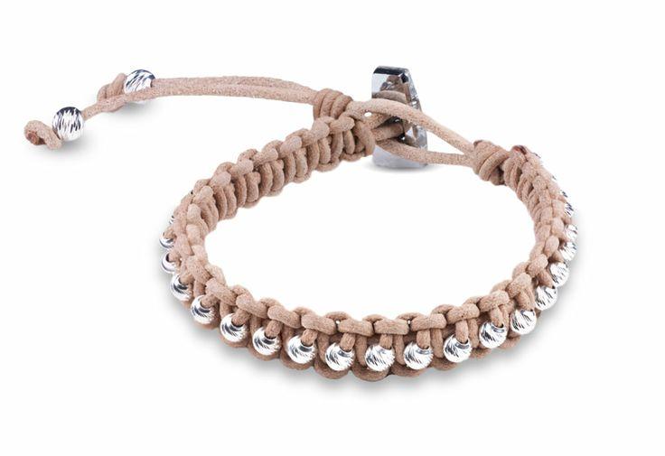 Too Cute Beads-Studded Leather Bracelet Kit