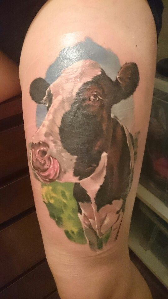 My cow. Her name is Emily Howard.