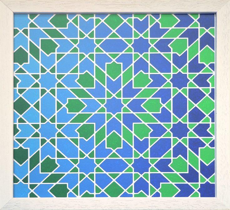 Blog over kunst gebaseerd op geometrische patronen