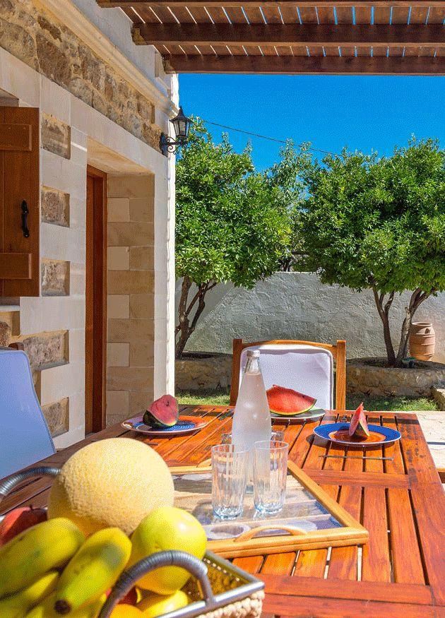 Villa Manolis in Asteri, Rethymno, Crete