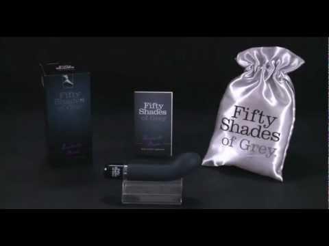 El Vibrador Mini Punto G de la colección de juguetes eróticos Cincuenta Sombras de Grey (Fifty Shades of Grey) esta diseñado con forma curvada para estimular uno de tus puntos más deseados.