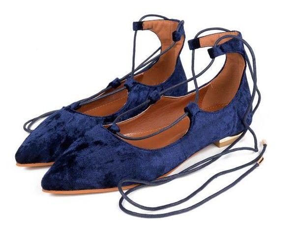 Popular Lace Up Pointed Toe Flats_Flats Women Shoes Wholesale Shoes Wholesale Clothing, Cheap Clothes Online, Discount Clothing Shop - UniWholersaler.com