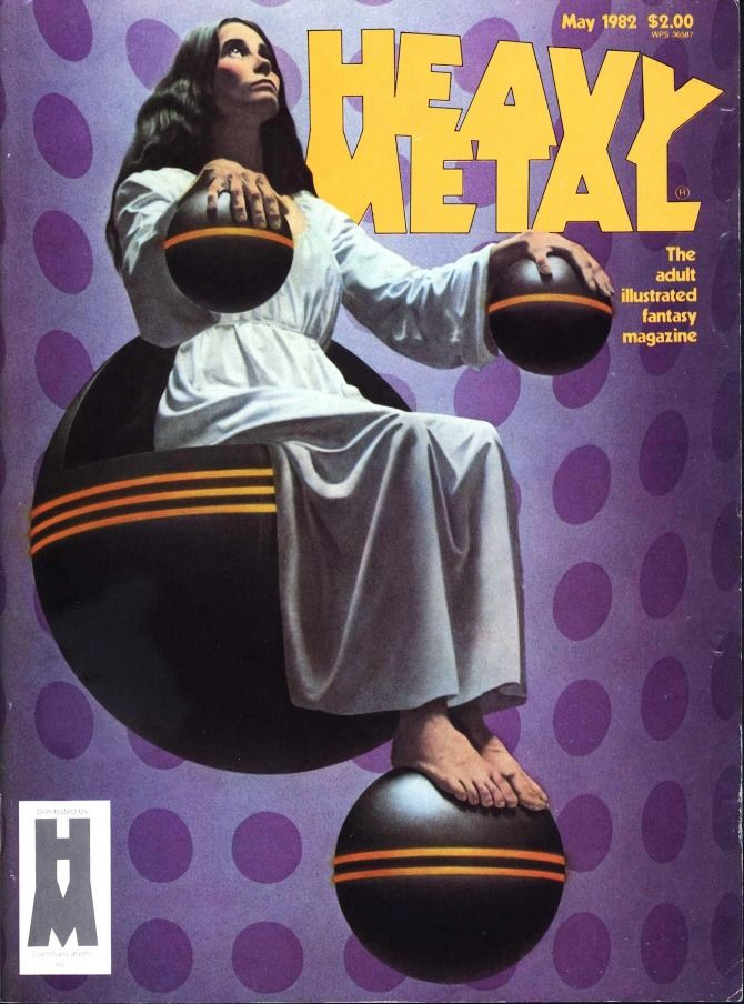 Heavy Metal Magazine Covers - MELT