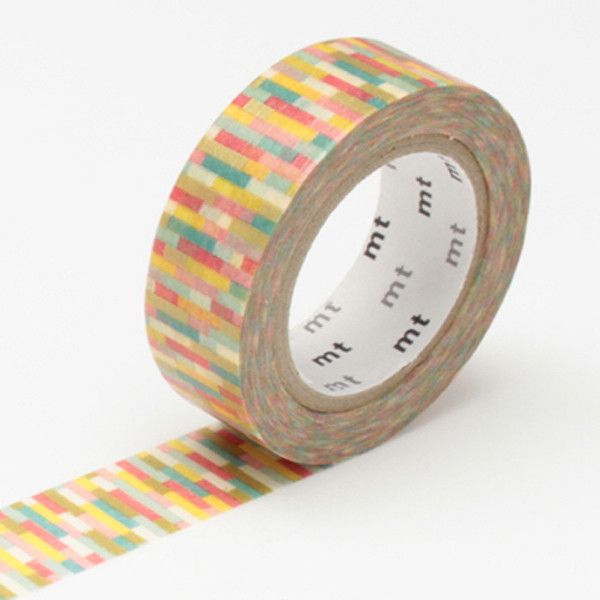 MT Block Pink Washi Tape from Fox and Star