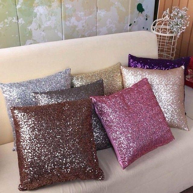 Best 25 Sequin Pillow Ideas On Pinterest Glitter Gold