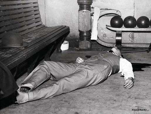 "Ten Startling Mafia Crime Scene Photos Photo Gallery - ""Machine Gun"" Jack McGurn - Crime Library"