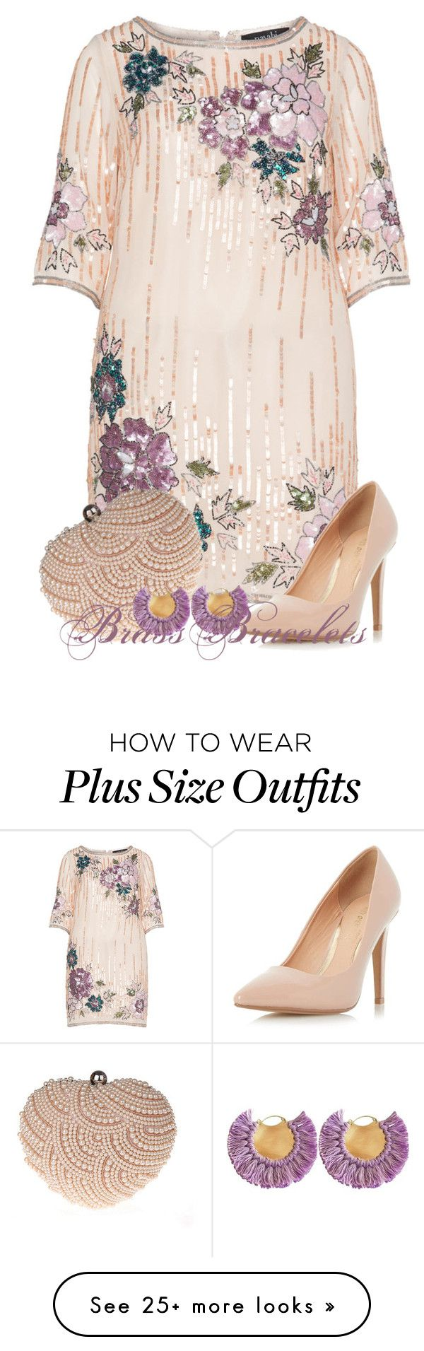"""""""Untitled #5580"""" by brassbracelets on Polyvore featuring navabi, Glam Cham and Dorothy Perkins"""