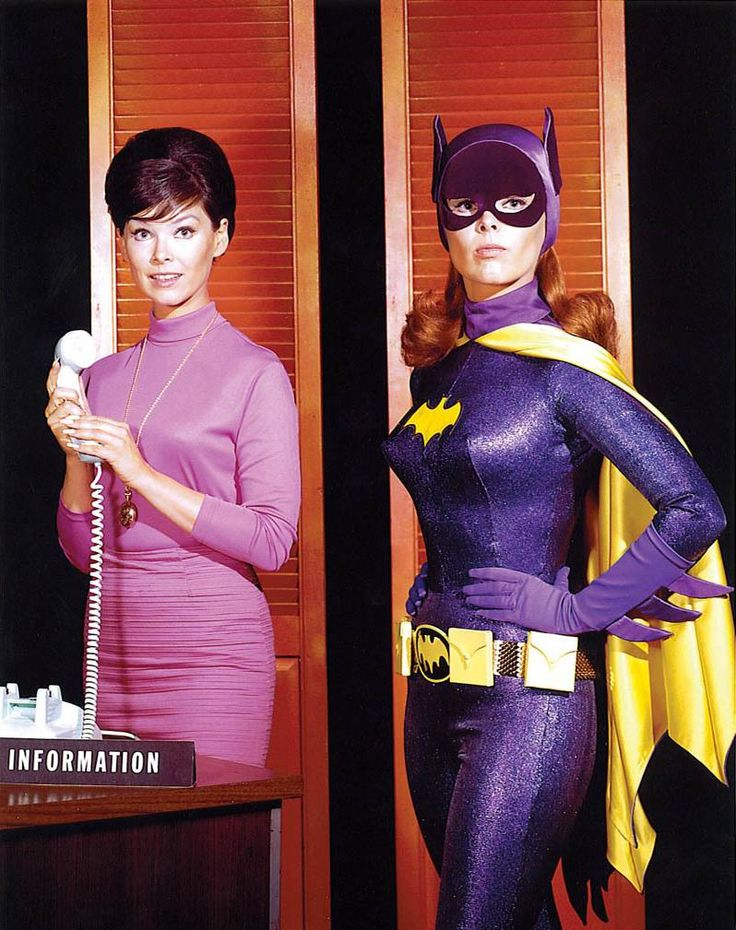 The Original, One & Only Yvonne Craig (Batgirl & Star Trek). Always beautiful in and out of costumes.