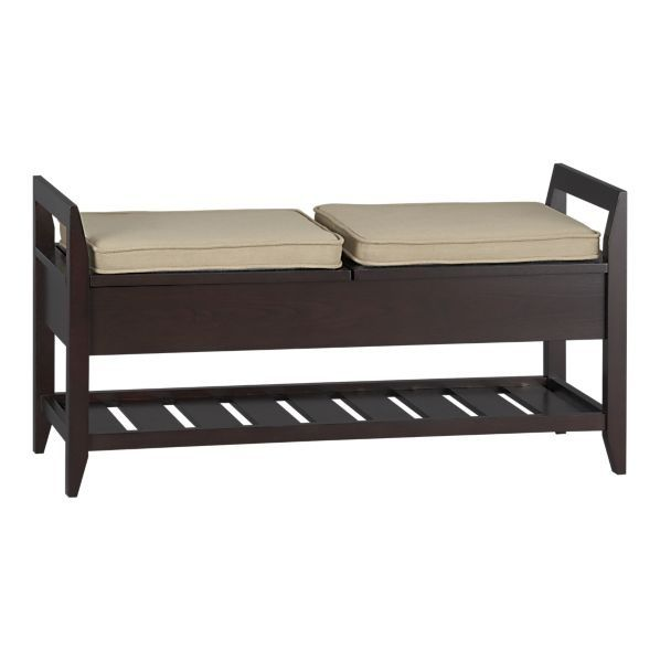 Addison Entryway Storage Bench With Cushions 2 Entryway Bench With Storage Home