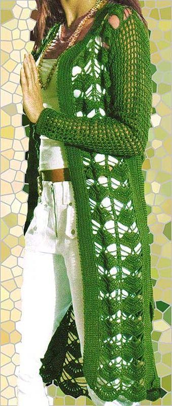ergahandmade: Crochet Cardigan + Diagrams