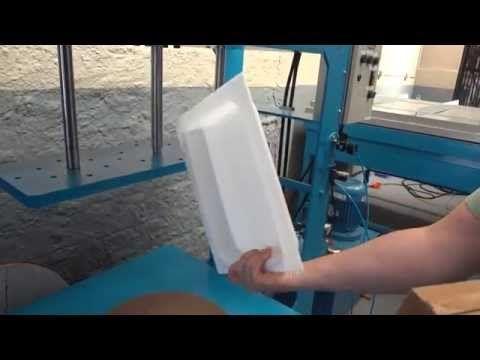 Moldando Bandeja em Acrílico 4mm - Projeto ACRYFLON (47) 3035-5564 - YouTube
