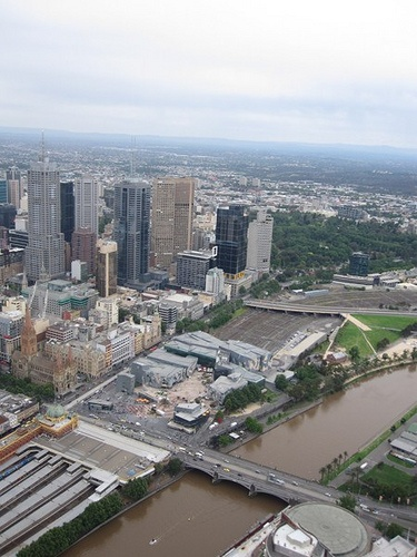 Melbourne - View from Eureka Sky Deck