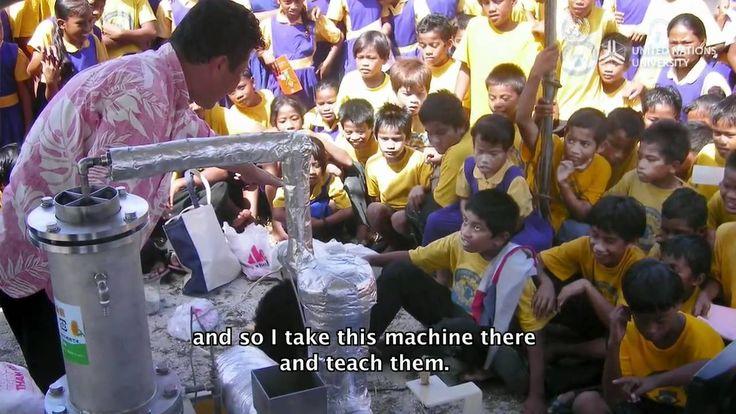 Man invents machine to convert plastic into oil
