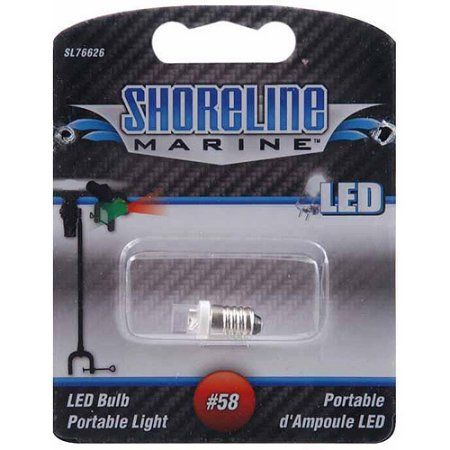 Shoreline Marine LED Replacement Bulbs, #58, White