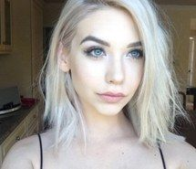 white blonde hair pale skin - Google Search