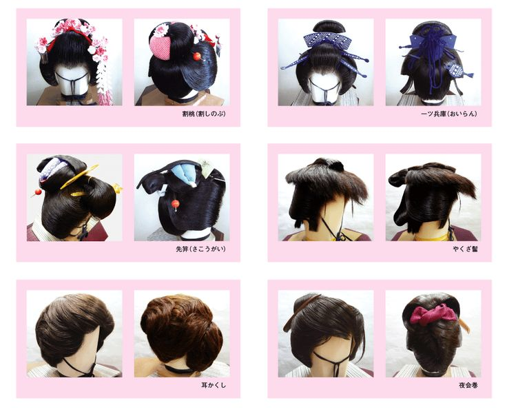 Hair Style Japan: Traditional Japanese Hairstyles - Google Search