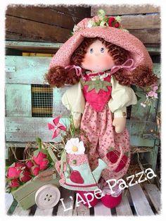 Cartamodelli Bambole primavera 2016 : cartamodello Tata Monella