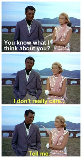 To Catch a Thief: Grace Kelly and Cary Grant