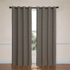 Eclipse Bobbi Blackout Pewter Curtain Panel, 63 in. Length-12966052063PWT at The Home Depot
