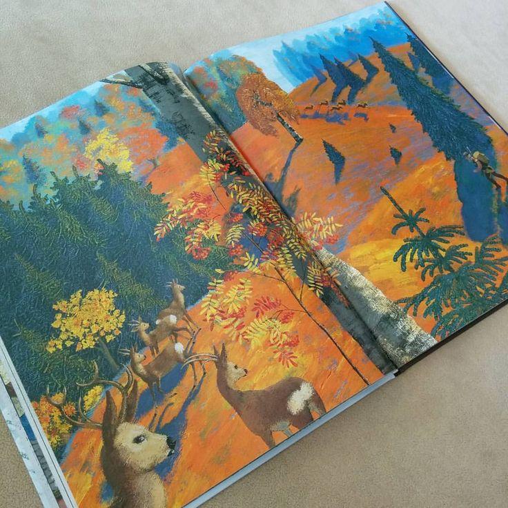 Поддалась массовой панике и купила вновь появившуюся в продаже книгу - Серебряное копытце с иллюстрациями Бычкова. Из минусов - неприятно пахнет полиграфией, из плюсов - она восхитительна! #книги_тоут  #мать_книголюб_горе_семье  #детскиекниги #издательствоакварель