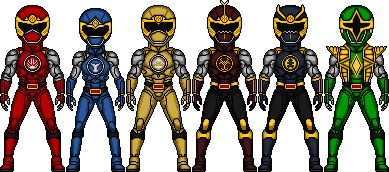 Power Rangers Ninja Storm Reboot by Joker960317.deviantart.com on @DeviantArt