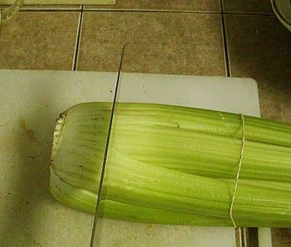 Grow your own celery--just cut off the bottom and plant it!
