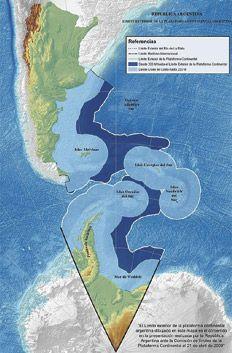 Página/12 :: El país :: Una plataforma continental de estreno.La aprobación por parte de las Naciones Unidas de la propuesta realizada por el país en abril de 2009 y que agrega 1.700.000 kilómetros cuadrados a la plataforma marina.