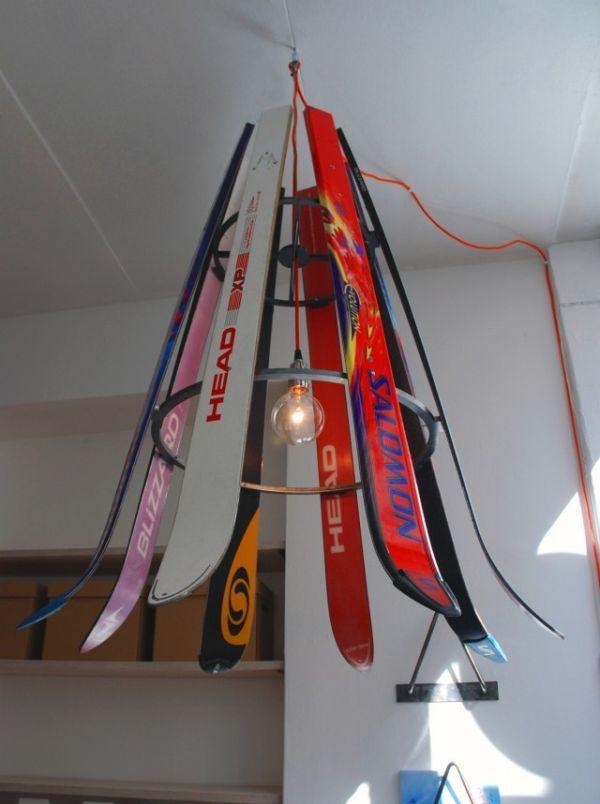 how to make a shot ski with a hockey stick