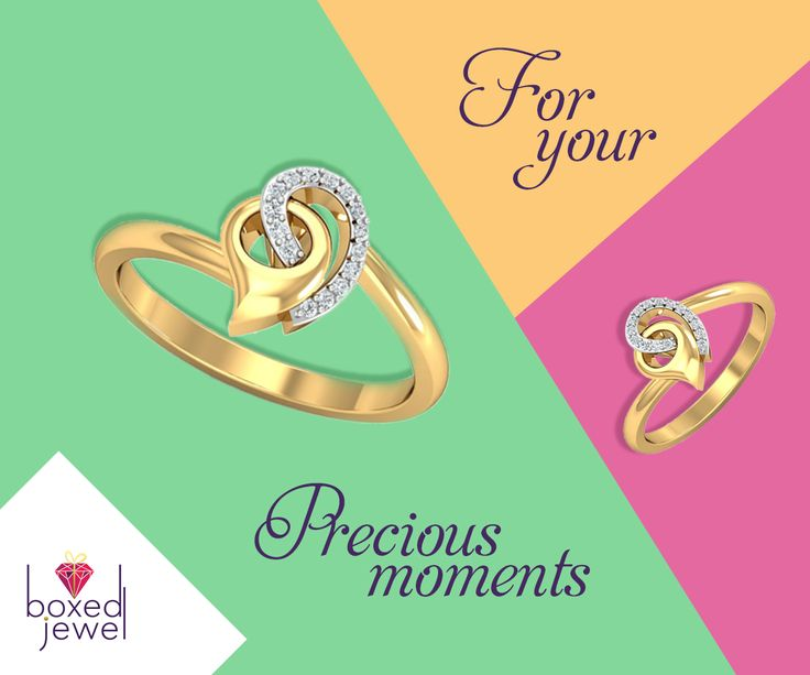 A Prime Witness of all your Dear Moments...   #GoldRing  #EverydayJewels  #CollegeJewelry  #OfficeJewelry