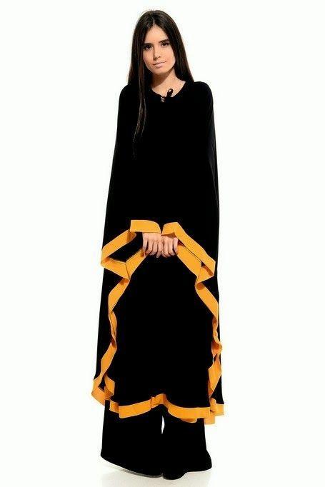 Very Fancy Abaya 2014   Latest Abaya Designs 2014   Gorgeous Abayas Collection 2014-2015