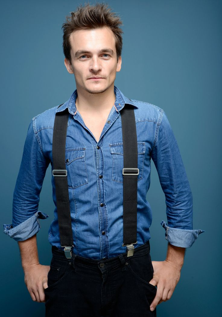 Rupert Friend photographed by Henny Garfunkel at the Toronto International Film Festival 2013