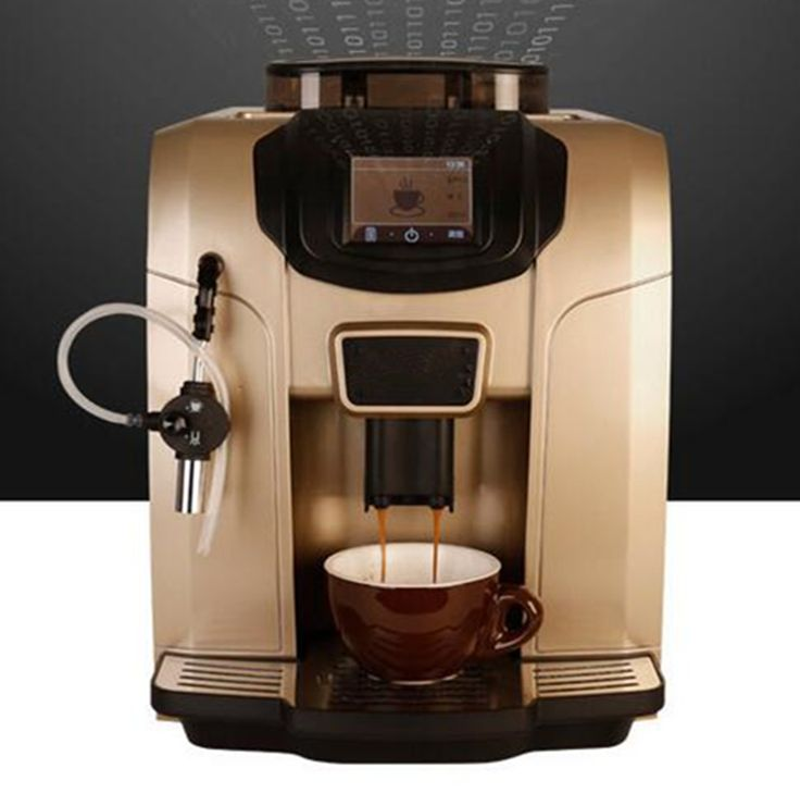 Find More Coffee Makers Information about Gold color One touch Commerical heat system Fully automatic LCD espresso coffee machine grinder 20 bar cappuccino/latte maker,High Quality machine copper,China machine energy Suppliers, Cheap coffee machin from Yuhang home appliance Co., Ltd. on Aliexpress.com