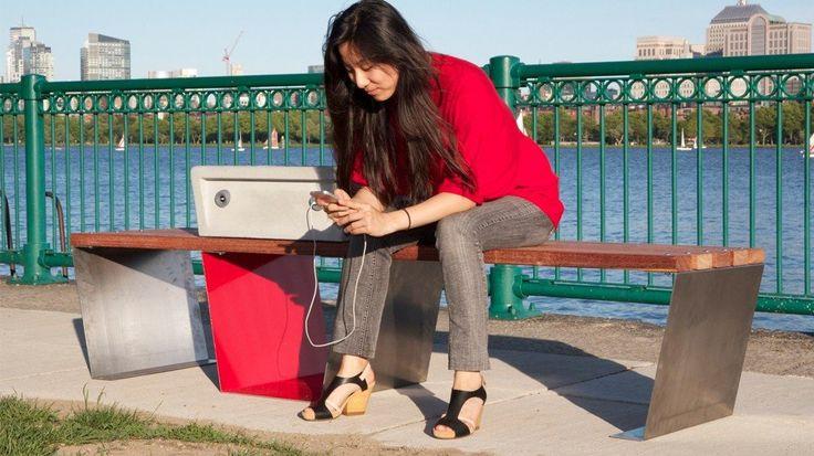 Um passeio no parque para recarregar seu gadget
