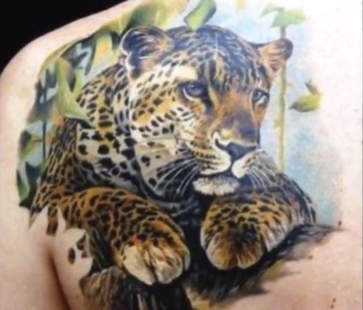 Jaguar Tattoo Colour