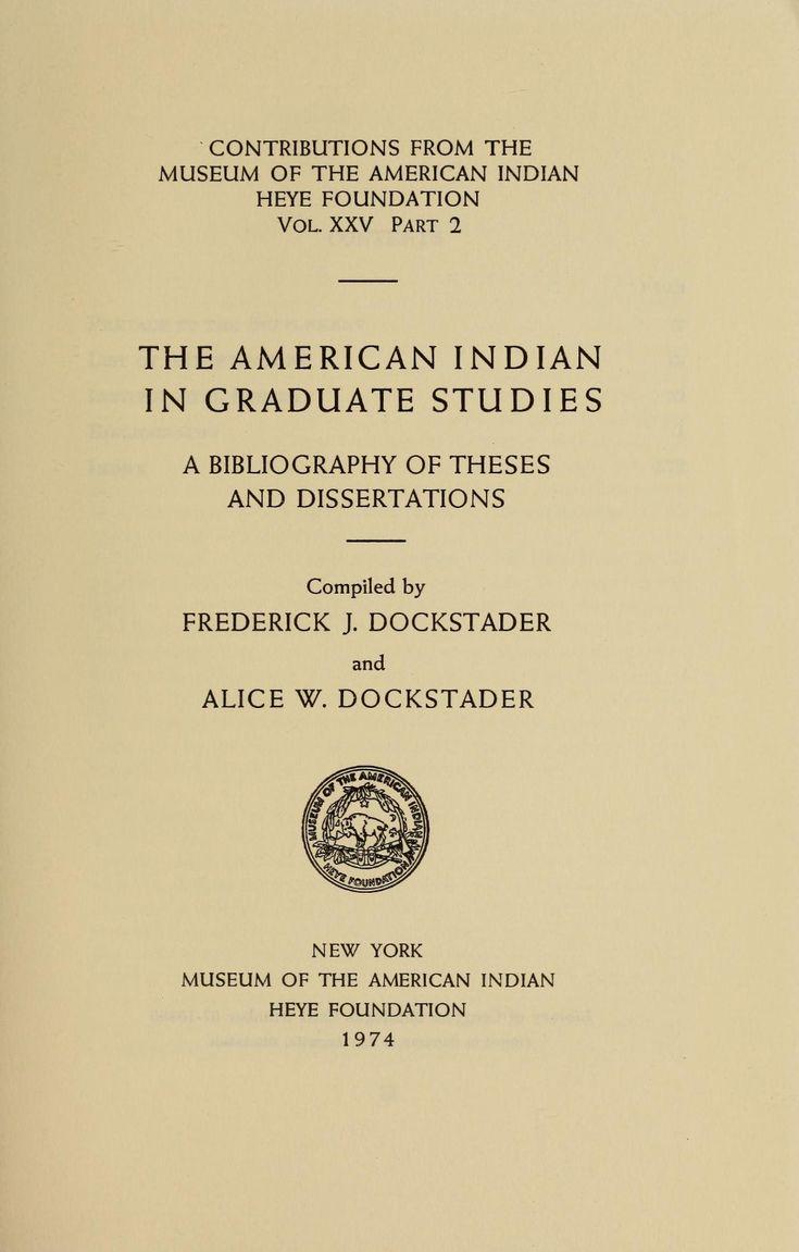 American studies phd thesis