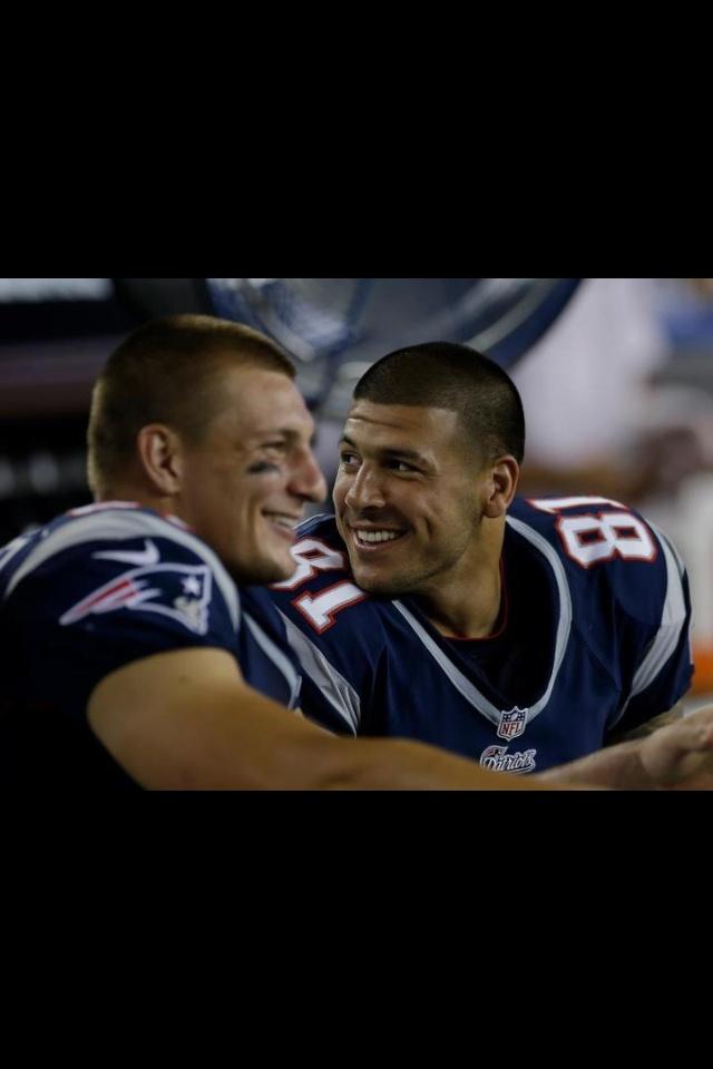 Gronk and Hernandez