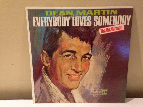 Dean Martin Everybody Loves Somebody vinyl by TurnAroundRecords
