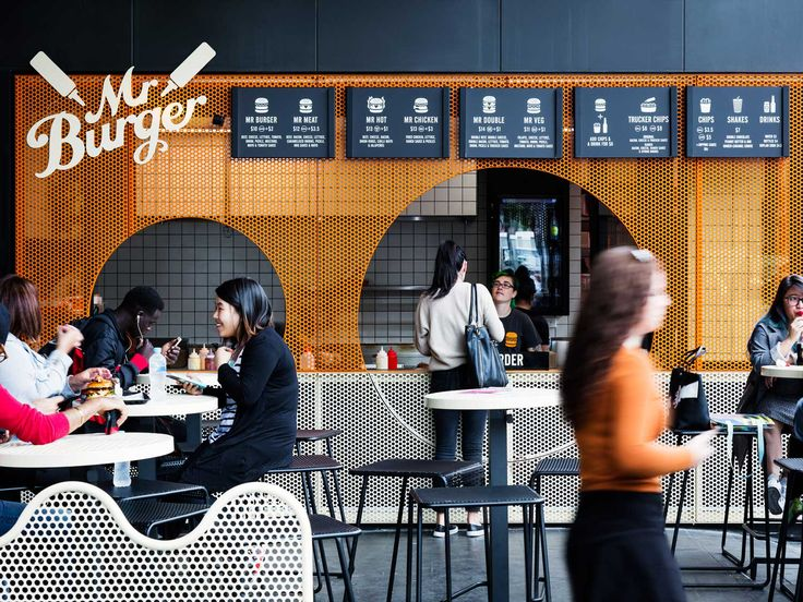 Mr Burger Melbourne Central by Therefore Architecture | Yellowtrace