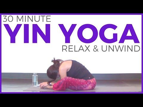 30 minute yin yoga to relax  unwind for stress relief
