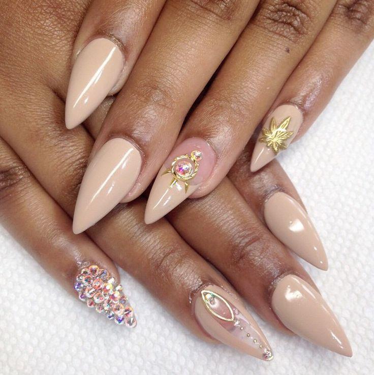 Elegant Stiletto Nail Art: 178 Best Nails - Classy/Elegant Images On Pinterest