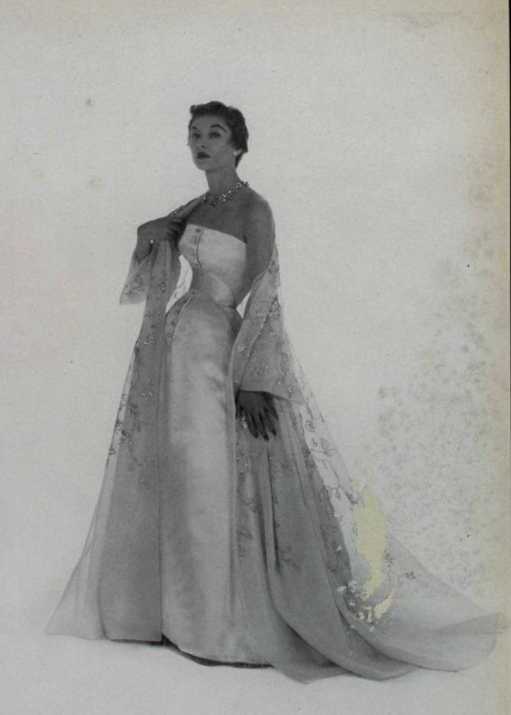 1953 - Christian Dior gown