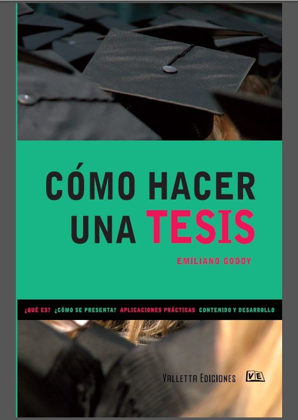 Cómo Hacer una Tesis - Emiliano Godoy - PDF - Español  http://helpbookhn.blogspot.com/2013/11/descargar-libro-completo-de-como-hacer.html