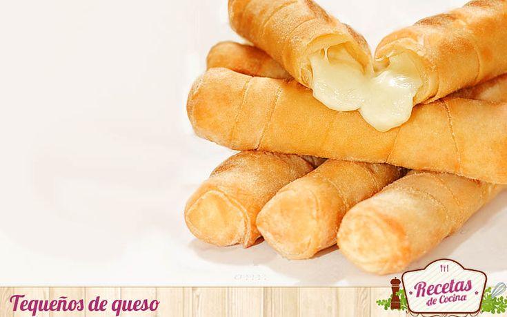 Tequeños de queso -  'Tequeños' en Venezuela y 'deditos de queso' en Colombia. Hoy cruzamos el charco para acercaros unbocado popular queconsiste en envolver un palito de queso blanco enuna masa de harina de trigo frita. Es una receta sencilla que sin embargo, requiere ensuciarse las mano... - http://www.lasrecetascocina.com/tequenos-de-queso/