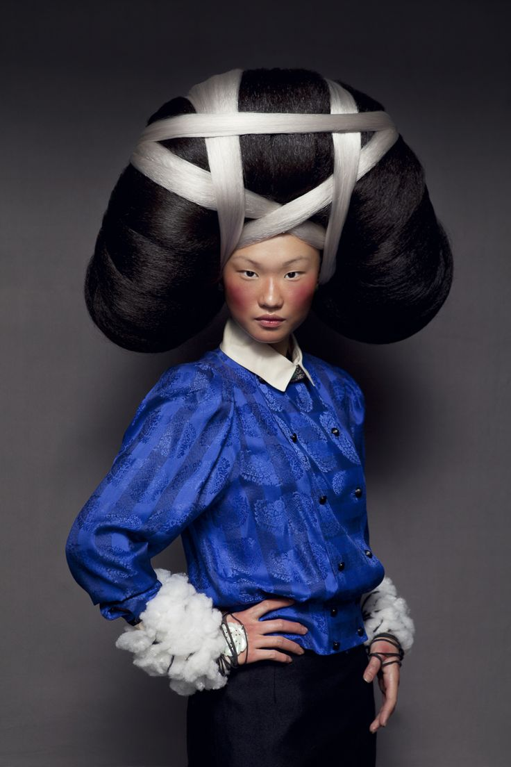 1000 Ides Sur Le Thme Cheveux Avant Garde Sur Pinterest Mches