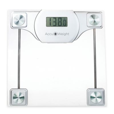 Accuweight Digital Glass Bathroom Scale - BedBathandBeyond.com